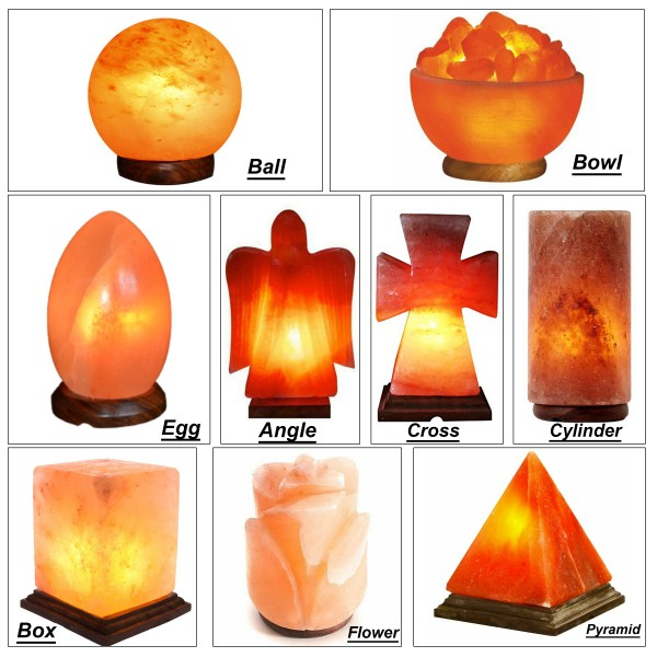 Hand Crafted Salt Lamps