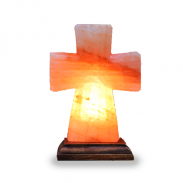Hand Crafted Salt Lamps - Cross