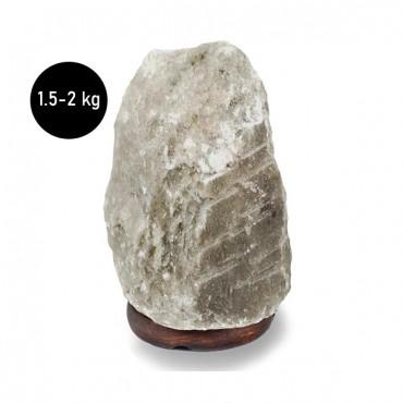 Natural Rare Grey Salt Lamp 1.5-2 KG