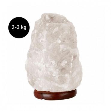 Natural White Salt Lamp 2-3 Kg