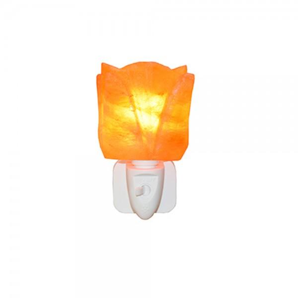 Himalayan Salt Lamp Night Light - Flower Shape