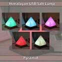 Himalayan Salt Lamps USB Pyramid