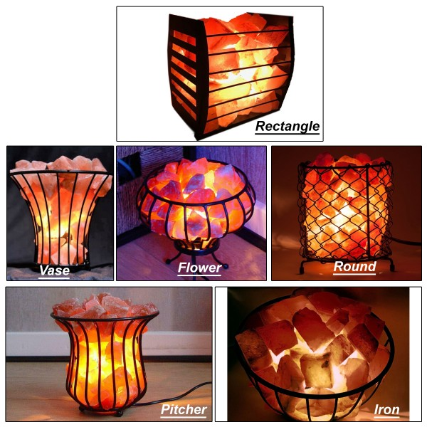 Basket Salt Lamp