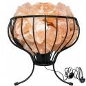Flower Basket Salt Lamp 104
